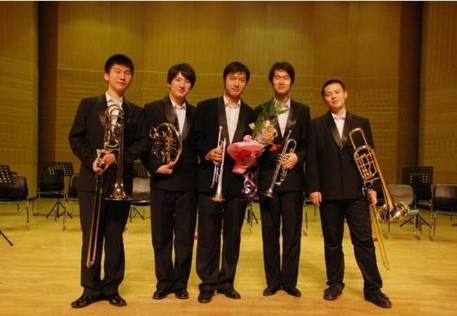 铜管五重奏乐谱